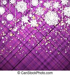 Purple christmas background. EPS 8