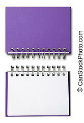 Purple cover Note Book