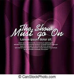 Purple Curtain.
