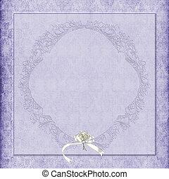 purple damask wedding background