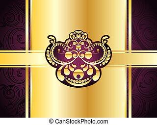 Purple Decorative Background
