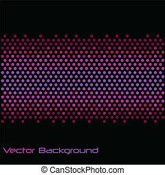 Purple Dot Abstract