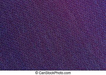 Purple Fabric Texture Macro - A macro shot of purple...