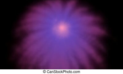 Purple fireworks, holidays