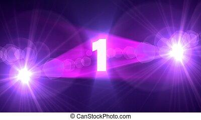 purple flare 1 background