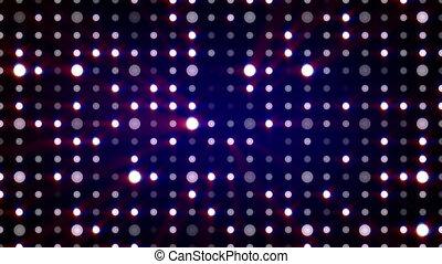 purple flashing light bulbs loopable background - purple...