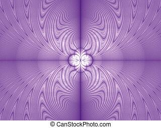 Purple floral image