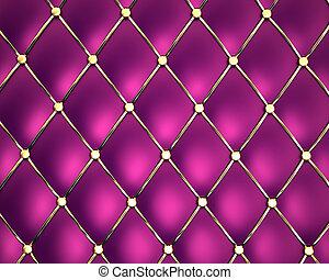 Purple genuine leather pattern background