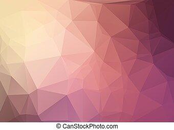 purple Geometric Background