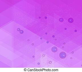 Purple geometric grunge background