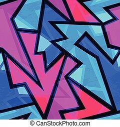 purple geometric seamless texture