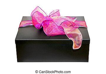 Purple gift angle