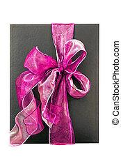 Purple gift bow