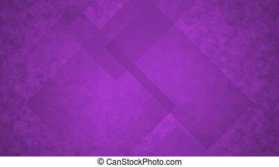 Purple Glass Rectangles.