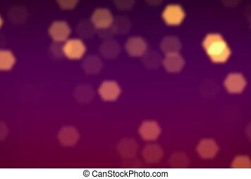 purple gold flare ntsc