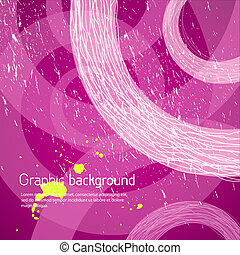 Purple graphic background