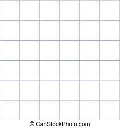 Purple Grid White Background