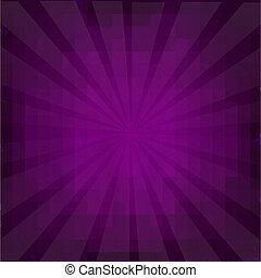 Purple Grunge Background Texture With Sunburst