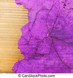 purple grunge cracked background