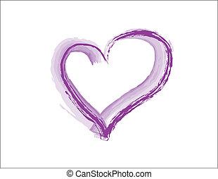 purple heart clip art vector graphics 8 818 purple heart eps rh canstockphoto com small purple heart clipart pink and purple heart clipart