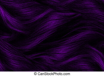 Purple Hair Texture