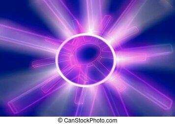 purple, illuminate, miracle