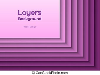 Purple Layeres - Purple background as many layers. Vector...
