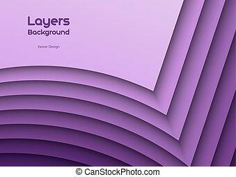 Purple Layeres - Purple background as many wavy layers....