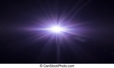 purple lens flare - lens flare special effect with dark...