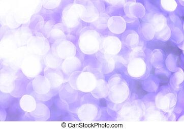 Purple light bokeh background
