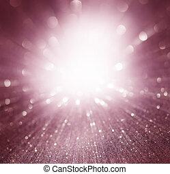 purple light burst background, abstract design