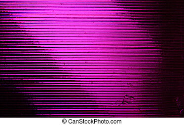 Purple light strips - Purple textured glass.