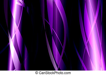 Purple lines abstract on dark background