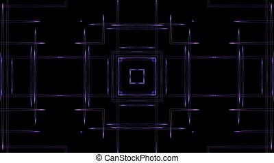 Purple lines kaleidoskope