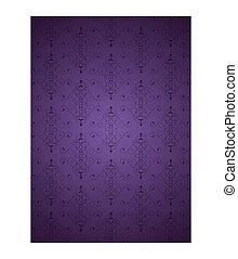 Purple little background