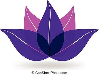 Purple lotus logo