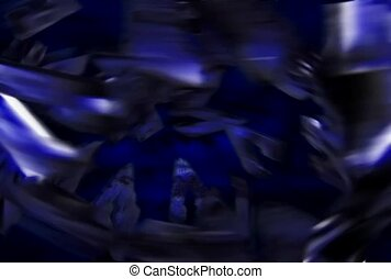 Purple Metal Swirls