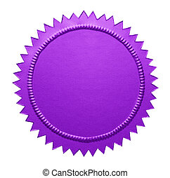 Purple Metallic Seal
