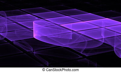 purple motion background