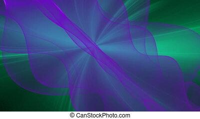 purple on green seamless looping bg