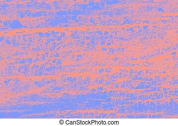 Purple orange patchy background, wooden texture background