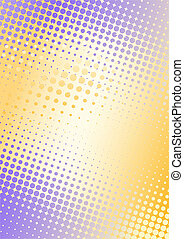 purple-orange poster background - metal background with dots