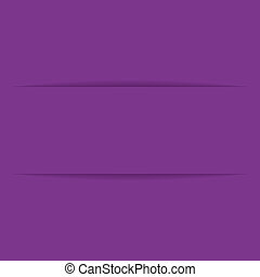 purple paper label