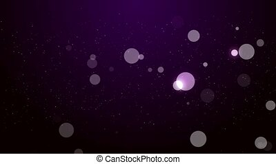 Purple Particles Looped