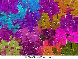 purple pink blue and brown painting texture abstract background
