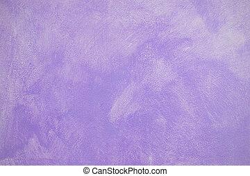 Purple plaster wall surface