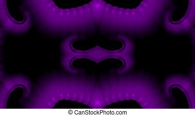 purple plastic flower lace pattern