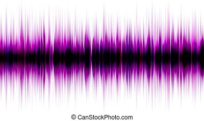 purple pulse ray, band, frequency