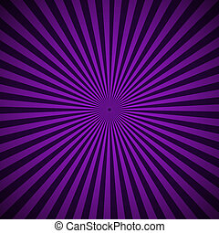 Purple radial rays abstract background