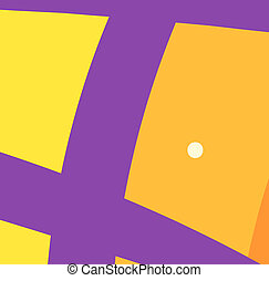 Purple salmon is swimming with the happy face